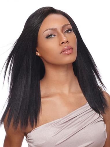 "16"" Black Lace Front Wigs For Black Women"