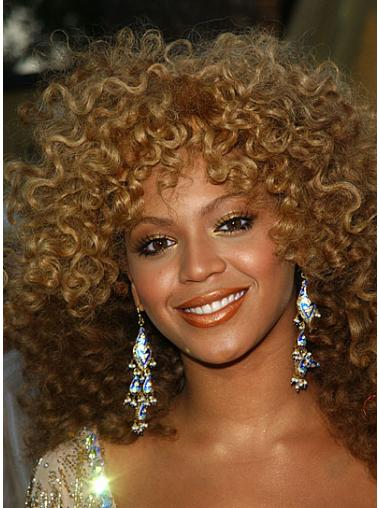 "Shoulder Length Curly Layered Capless 14"" Trendy Beyonce Wigs"