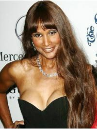 """Straight Blonde Long 26"""" Synthetic Affordable Beverly Johnson Wigs"""