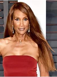 """Straight Blonde Long 26"""" Synthetic Flexibility Beverly Johnson Wigs"""