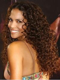 """Lace Front Curly Layered Long Great 14"""" Halle Berry Wigs"""