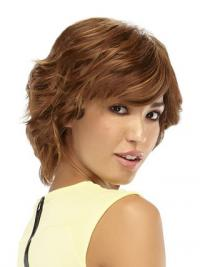 "11"" Great Auburn Layered Monofilament Wigs"