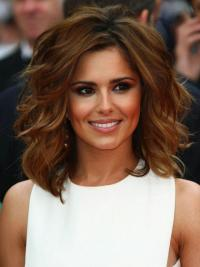 Cheryl Coles Wigs Remy Human Auburn Color Shoulder Length
