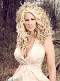 Kim Zolciak Wigs With Synthetic Capless Curly Style Classic Cut