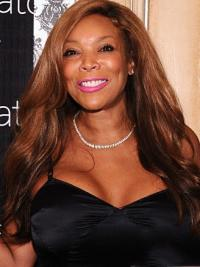 "Layered Wavy Auburn 20"" Exquisite Wendy Williams Wigs"
