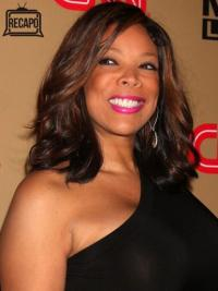"Without Bangs Wavy Auburn 14"" Cheapest Wendy Williams Wigs"