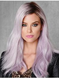 """18"""" Ombre/2 Tone Capless Straight Without Bangs Young Fashion Wigs"""