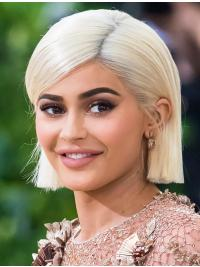 """Straight 8"""" Bob Lace Front Synthetic Wigs"""